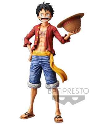 Figura One Piece Chile Luffy Grandista Anime