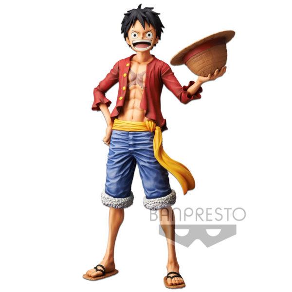 Figura One Piece Chile Luffy Grandista Anime