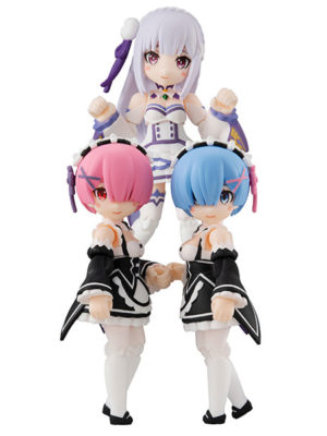 Figura Anime Re:Zero Chile Tienda Rem Ram Emilia Desktop