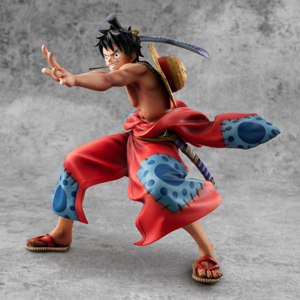 Figura One Piece Chile Tienda Anime Luffy Luffytaro Wano POP MegaHouse