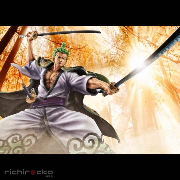 Figura One Piece Chile Wano Roronoa Zoro Tienda Chile
