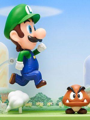 Nendoroid Chile Luigi Super Mario Figura Tienda Nintendo Juego Chile Santiago