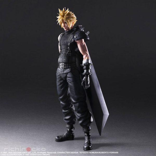 Figura Chile Tienda Juego Final Fantasy VII Remake PLAY ARTS Kai Cloud Strife