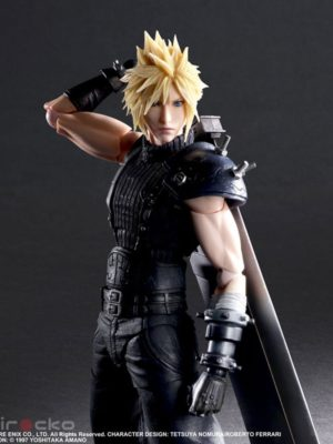 Figura Chile Tienda Juego Final Fantasy VII Remake PLAY ARTS Kai Cloud Strife