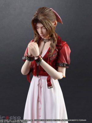 Figura Chile Tienda Juego Final Fantasy VII Remake PLAY ARTS Kai Aerith