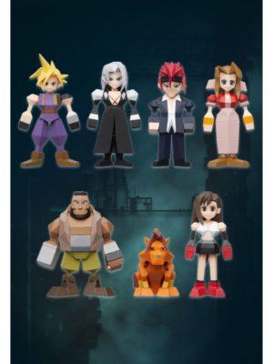 Figura Final Fantasy 7 VII Remake Polygon Polígonos Tienda Figuras Juego Anime Chile