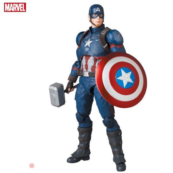 Figura Marvel Mafex Medicom Toy Chile Captain America Avengers Endgame Tienda Figuras Superhéroes Chile
