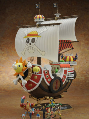 One Piece Chile Barco Thousand Sunny Go Tienda Figuras Anime Plamodel Plastic Model Kit Bandai