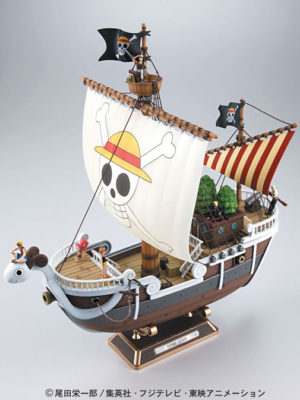 One Piece Chile Barco Going Merry Tienda Figuras Anime Plamodel Plastic Model Kit Bandai