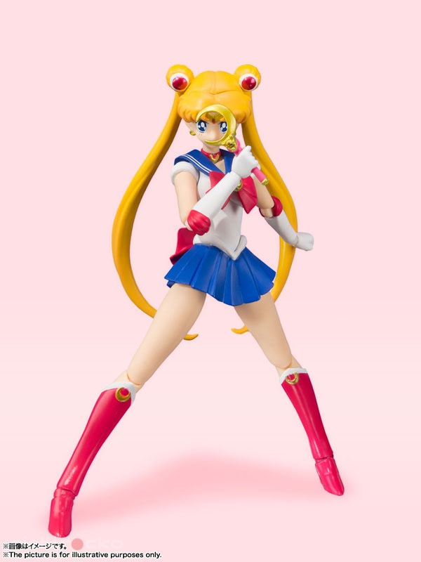 Figura S.H.Figuarts Sailor Moon Animation Color Edition Sailor Moon Tienda Figuras Anime Chile Santiago