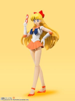 Figura S.H.Figuarts Sailor Venus Animation Color Edition Sailor Moon Tienda Figuras Anime Chile Santiago