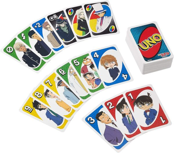 Juego de cartas mesa UNO Detective Conan Tienda Figuras Anime Chile Santiago