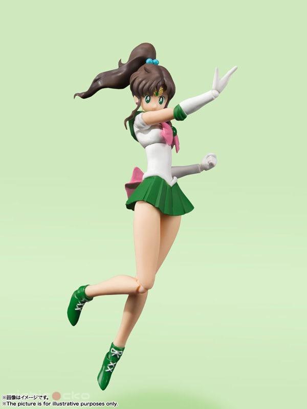 Figura S.H.Figuarts Sailor Jupiter Animation Color Edition Sailor Moon Tienda Figuras Anime Chile Santiago