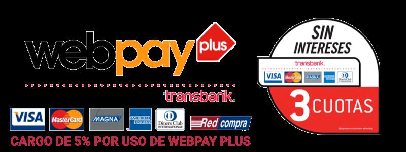 Webpay Pago Seguro 3 cuotas