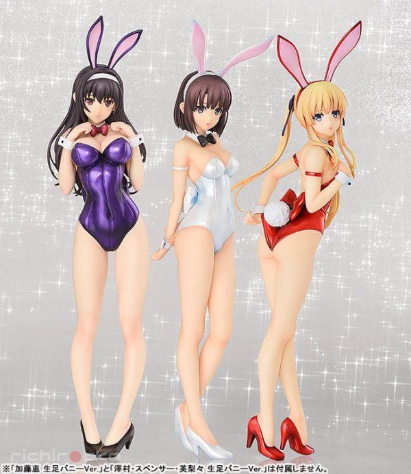 Figura B-STYLE Saekano Utaha Kasumigaoka Bunny Tienda Figuras Anime Chile Santiago