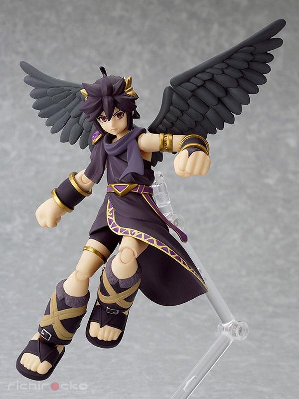 Figura figma Chile Kid Icarus: Uprising Dark Pit Tienda Figuras Anime Juego Nintendo Santiago