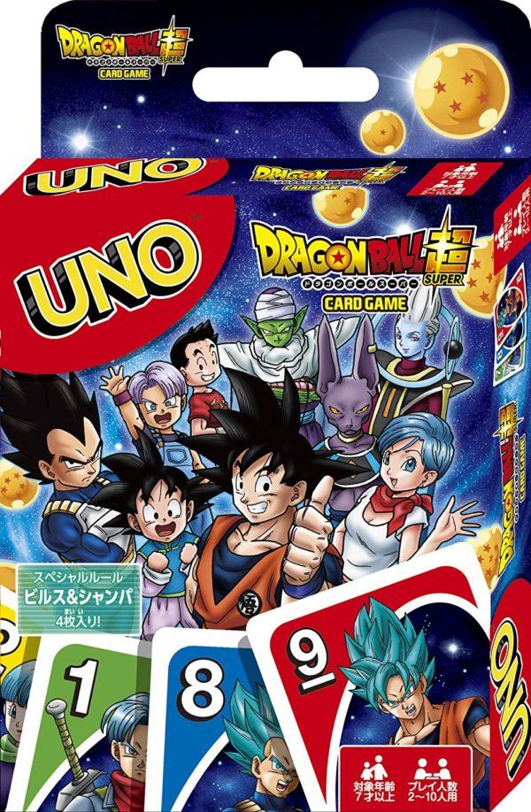 Juego de cartas mesa UNO Mattel Dragon Ball Super Tienda Figuras Anime Chile Santiago