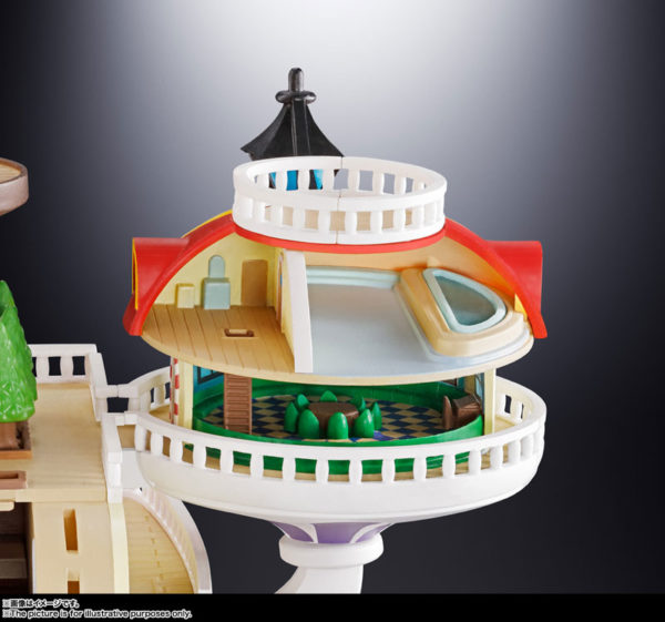 Figura One Piece Chogokin Thousand Sunny Go Bandai Tienda Figuras Anime Santiago