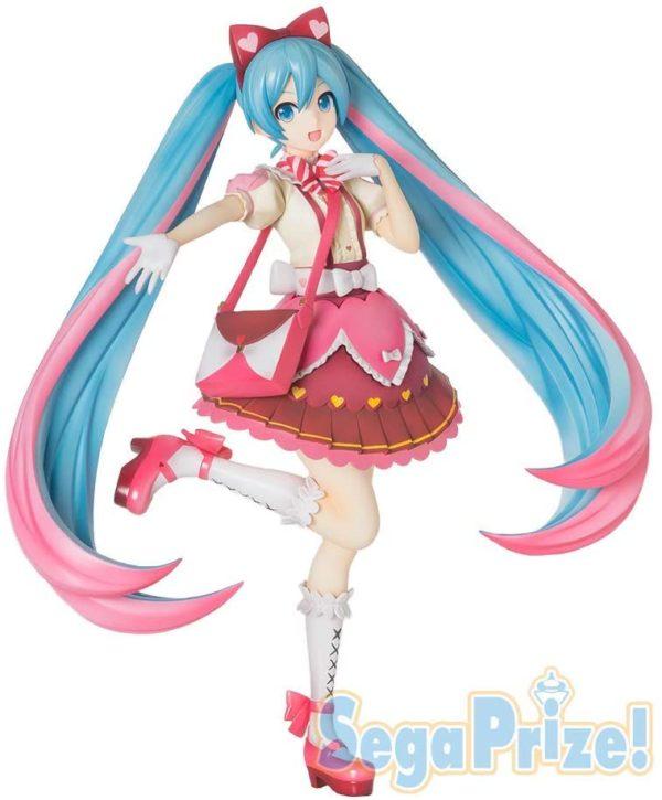 Figura Hatsune Miku Ribbon Heart Super Premium Figure Tienda Figuras Anime Vocaloid Chile Santiago SEGA