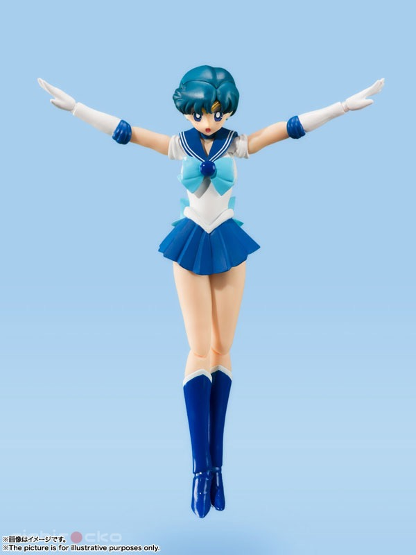 Figura S.H.Figuarts Sailor Mercury Animation Color Edition Sailor Moon Tienda Figuras Anime Chile Santiago