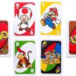 Juego de cartas mesa UNO Super Mario Nintendo Tienda Figuras Anime Chile Santiago