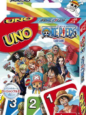 Juego de cartas mesa UNO Mattel One Piece Tienda Figuras Anime Chile Santiago