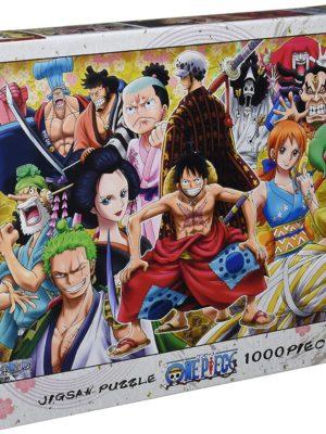 Puzzle Rompecabezas Monkey D. Luffy One Piece Tienda Figuras Anime Chile Santiago