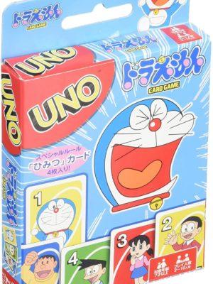 Juego de cartas mesa UNO Doraemon Tienda Figuras Anime Chile Santiago