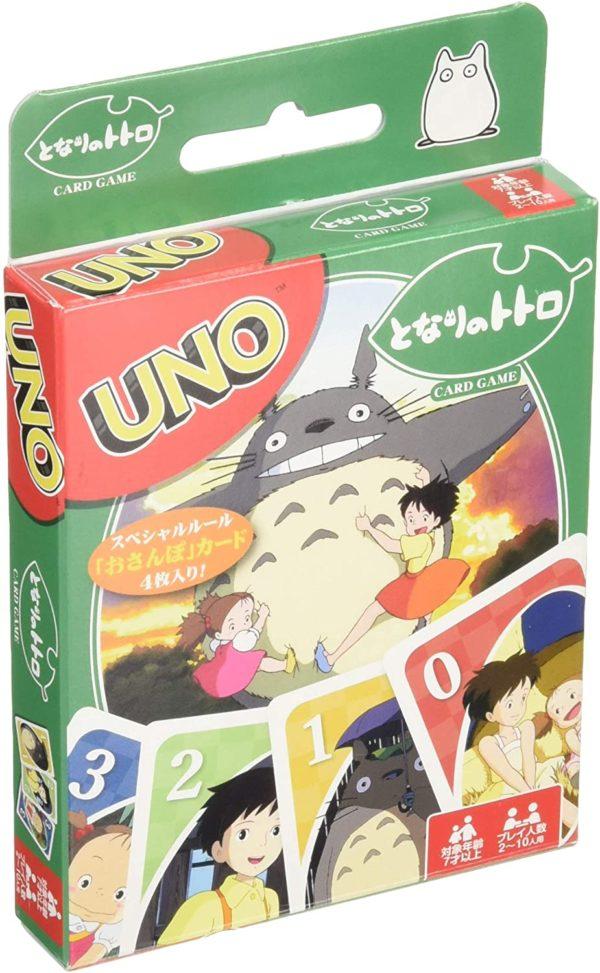 Juego de cartas mesa UNO Mi Vecino Totoro Tienda Figuras Anime Chile Santiago