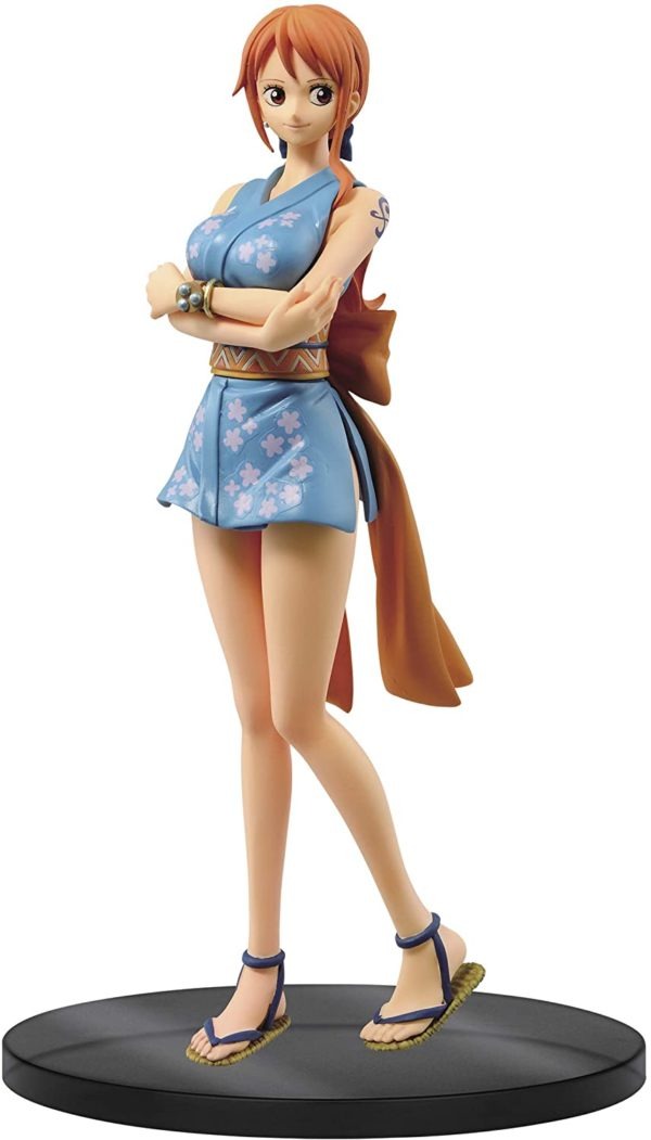 Figura Prize One Piece Nami Wano Kuni DXF THE GRANDLINE LADY Banpresto Bandai Spirits Tienda Figuras Anime Chile Santiago