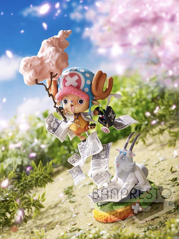 Figura One Piece Tony Tony Chopper GReeeeN Tienda Figuras Anime Chile Santiago