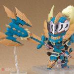 Figura Nendoroid Chile Monster Hunter World Iceborne Male Hunter Zinogre Alpha Tienda Figuras Anime Juego Santiago