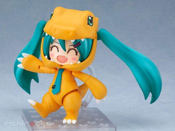 Figura Nendoroid Chile Vocaloid Digimon Hatsune Miku Kigurumi Agumon Tienda Figuras Anime Santiago