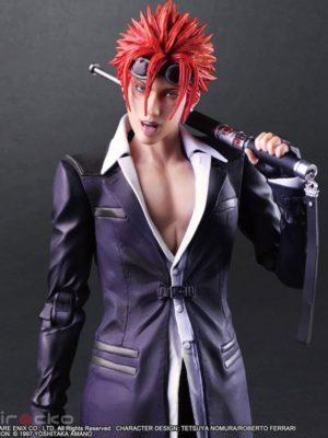 Figura Final Fantasy VII Remake PLAY ARTS Kai Reno Tienda Figuras Anime Juego Chile Santiago Square Enix