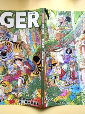 Artbook One Piece Color Walk Tiger Tienda Figuras Anime Chile Santiago