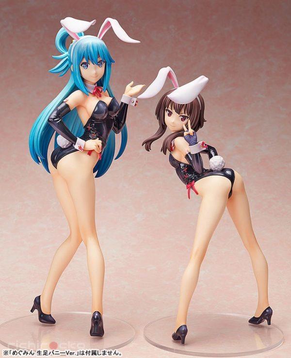 Figura B-STYLE KonoSuba 2 Aqua Bare Leg Bunny Tienda Figuras Anime Chile Santiago
