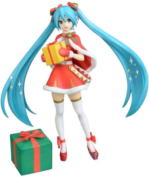 Figura SEGA Hatsune Miku Vocaloid Christmas Navidad Santa Tienda Figuras Anime Chile Santiago