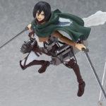 Figura figma Chile Shingeki no Kyojin Attack on Titan Mikasa Ackerman Tienda Figuras Anime Santiago