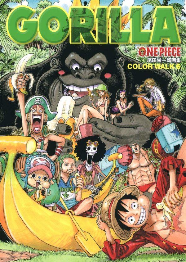 Artbook One Piece Gorilla Color Walk Tienda Figuras Anime Chile Santiago