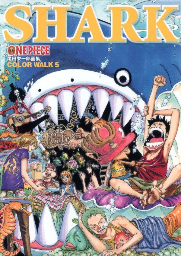 Artbook One Piece Shark Color Walk Tienda Figuras Anime Chile Santiago