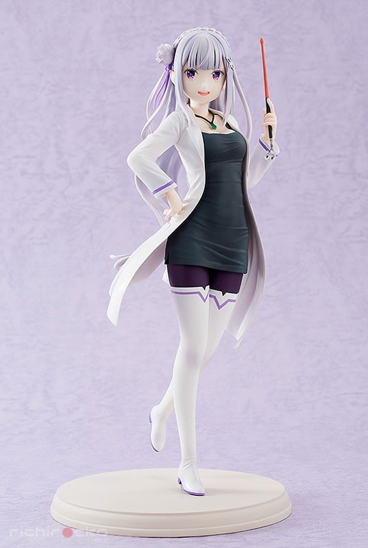 Figura Re:Zero Emilia Teacher High School Sensei Tienda Figuras Anime Chile Santiago