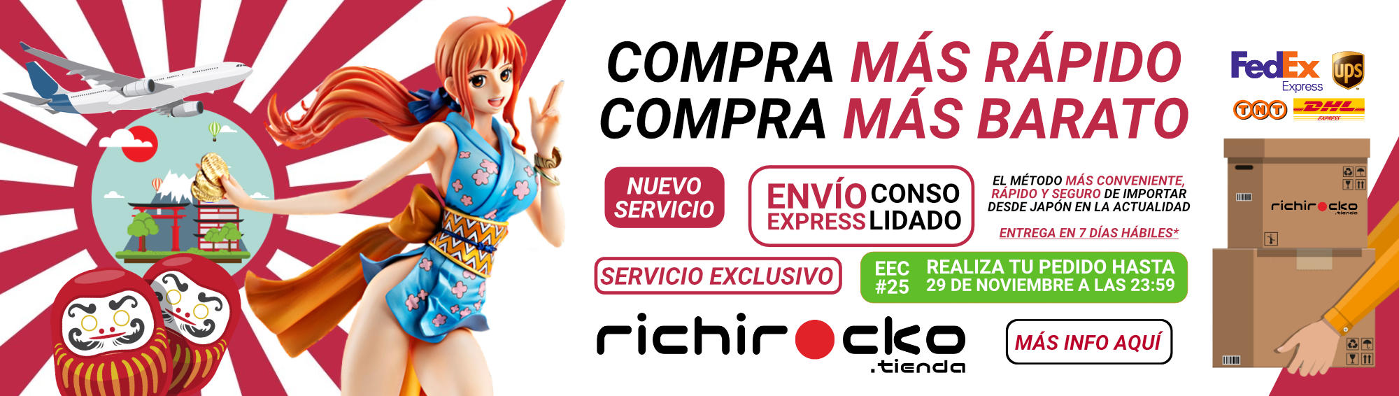 Tienda Figuras Anime Chile Envío Express