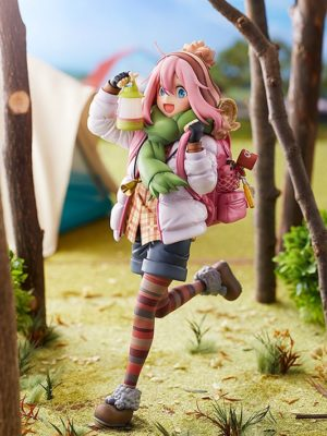 Figura Yuru Camp Nadeshiko Kagamihara Tienda Figuras Anime Chile Santiago