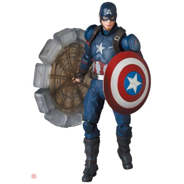 Figura MAFEX Captain America Medicom Toys Marvel Avengers Tienda Figuras Anime Chile Santiago