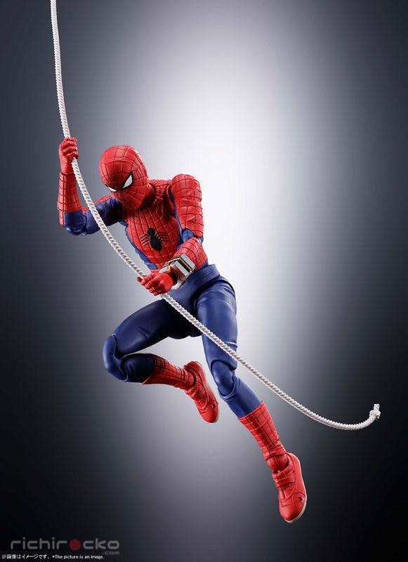 Figura S.H. Figuarts Spider-Man Marvel Tienda Figuras Anime Chile Santiago