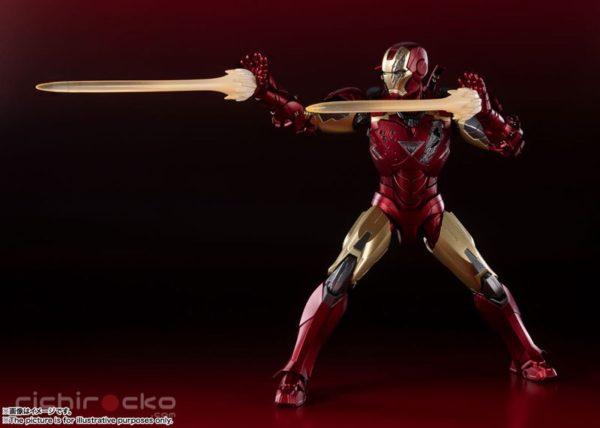 Figura S.H.Figuarts Avengers Marvel Iron Man Tienda Figuras Anime Chile Santiago