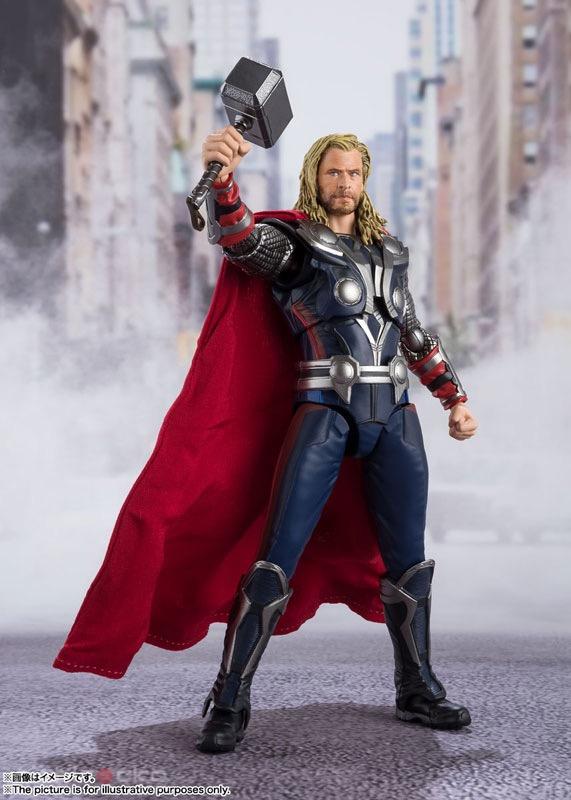 Figura Avengers Marvel Thor S.H.Figuarts Tienda Figuras Anime Chile Santiago