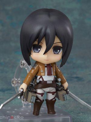 Figura Nendoroid Chile Shingeki no Kyojin Attack on Titan Mikasa Ackerman Tienda Figuras Anime Santiago