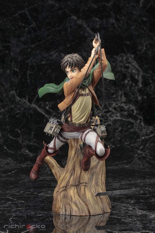 Figura ARTFX J Attack on Titan Eren Yeager Renewal Package Tienda Figuras Anime Chile Santiago