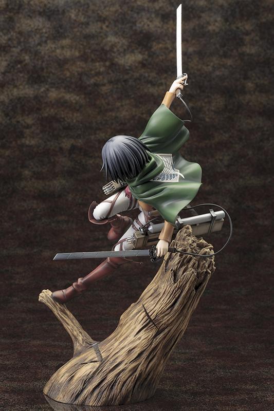 Figura Mikasa Ackerman Attack on Titan Shingeki no Kyojin Kotobukiya ARTFX Tienda Figuras Anime Chile Santiago